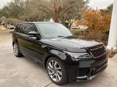 2019 Land Rover Range Rover Sport for sale at SOUTHWAY MOTORS in Houston TX
