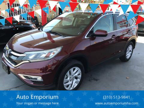 2015 Honda CR-V for sale at Auto Emporium in Wilmington CA