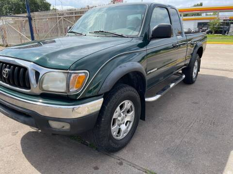 2001 Toyota Tacoma for sale at Demetry Automotive in Houston TX