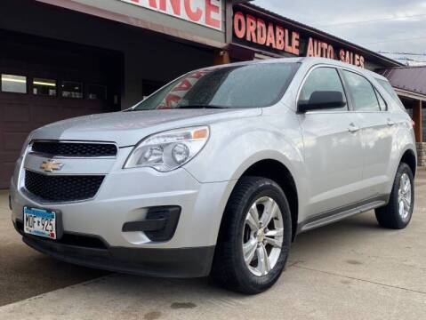 2011 Chevrolet Equinox for sale at Affordable Auto Sales in Cambridge MN