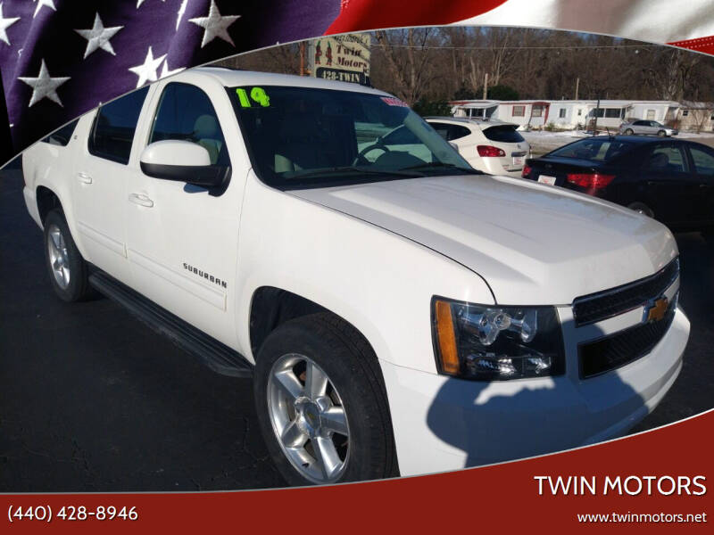 2014 Chevrolet Suburban for sale at TWIN MOTORS in Madison OH