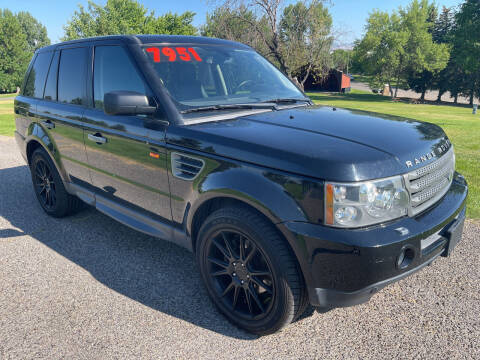 2008 Land Rover Range Rover Sport for sale at BELOW BOOK AUTO SALES in Idaho Falls ID