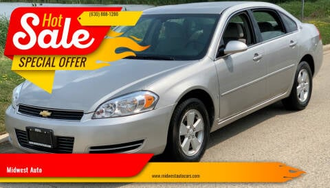 2007 Chevrolet Impala for sale at Midwest Auto in Naperville IL