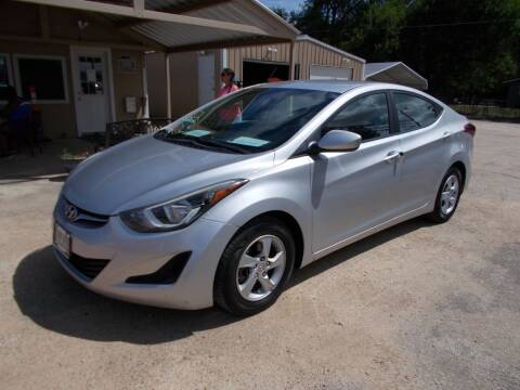 2015 Hyundai Elantra for sale at DISCOUNT AUTOS in Cibolo TX