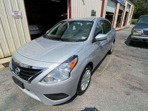 2019 Nissan Versa for sale at THE AUTOMOTIVE CONNECTION in Atkins VA