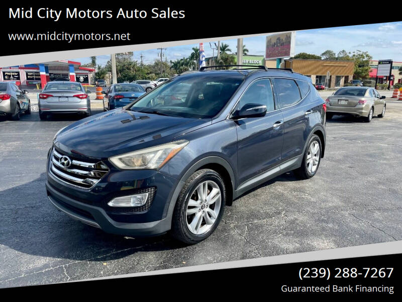 2013 Hyundai Santa Fe Sport for sale at Mid City Motors Auto Sales in Fort Myers FL