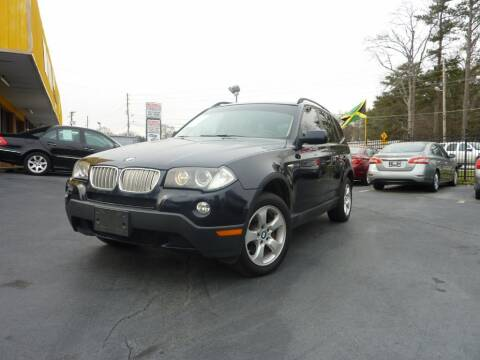 2007 BMW X3 for sale at Roswell Auto Imports in Austell GA