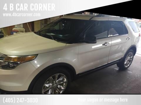 2013 Ford Explorer for sale at 4 B CAR CORNER in Anadarko OK