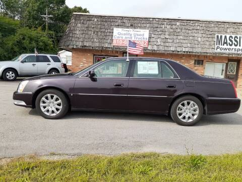 2008 Cadillac DTS for sale at Kenny's Korner in Hartland MI