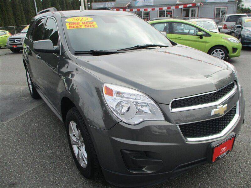 2013 Chevrolet Equinox for sale at GMA Of Everett in Everett WA