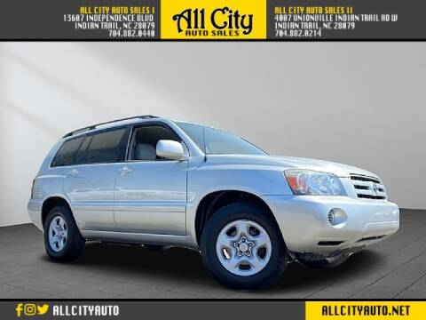 2005 Toyota Highlander for sale at All City Auto Sales II in Indian Trail NC