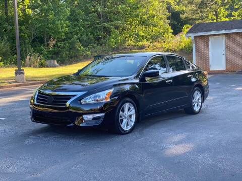 2014 Nissan Altima for sale at Top Notch Luxury Motors in Decatur GA