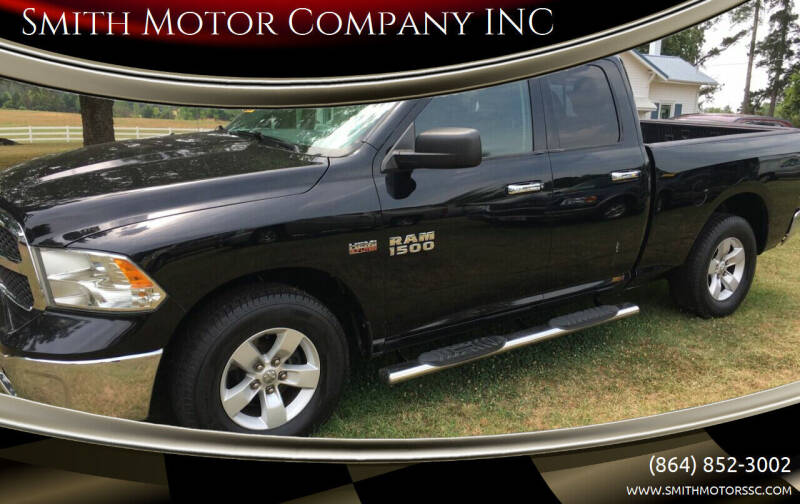 2014 RAM Ram Pickup 1500 for sale at Smith Motor Company INC in Mc Cormick SC