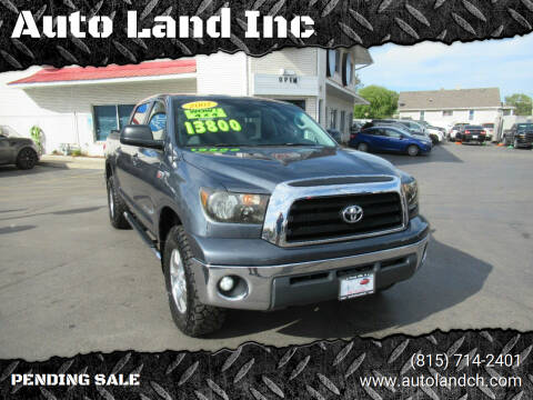 2007 Toyota Tundra for sale at Auto Land Inc in Crest Hill IL