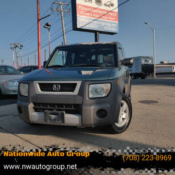 2004 Honda Element for sale at Nationwide Auto Group in Melrose Park IL