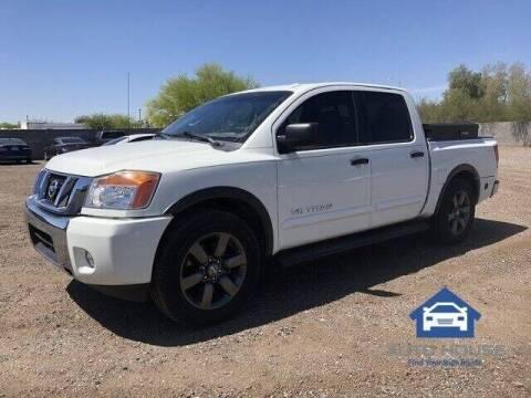 2015 Nissan Titan for sale at MyAutoJack.com @ Auto House in Tempe AZ