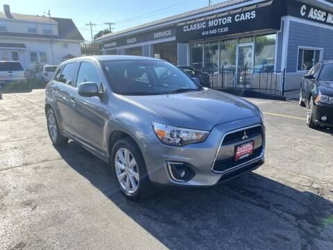 2014 Mitsubishi Outlander Sport for sale at CLASSIC MOTOR CARS in West Allis WI