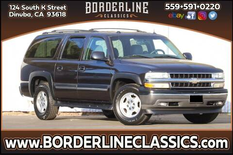 2005 Chevrolet Suburban for sale at Borderline Classics in Dinuba CA