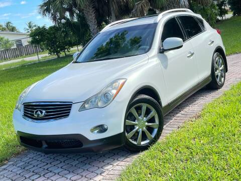 2010 Infiniti EX35 for sale at Citywide Auto Group LLC in Pompano Beach FL