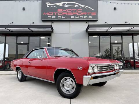 1967 Chevrolet Chevelle for sale at Exotic Motorsports of Oklahoma in Edmond OK