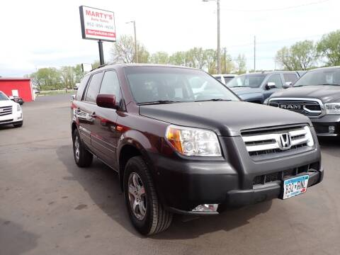 2007 Honda Pilot for sale at Marty's Auto Sales in Savage MN