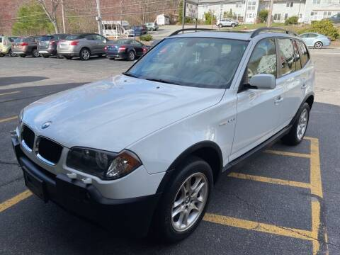 2004 BMW X3 for sale at Premier Automart in Milford MA