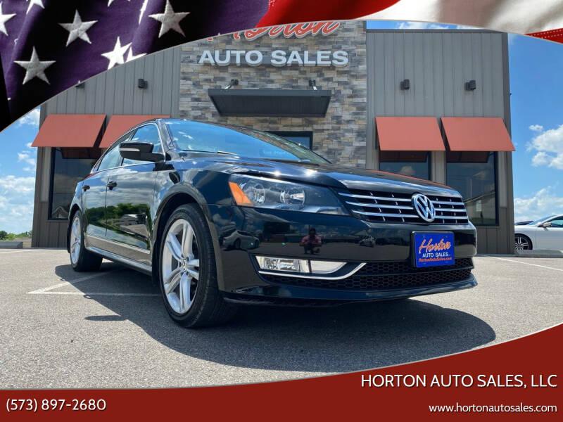 2015 Volkswagen Passat for sale at HORTON AUTO SALES, LLC in Linn MO