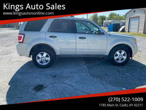 2009 Ford Escape for sale at Kings Auto Sales in Cadiz KY
