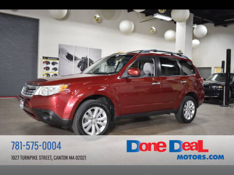 2013 Subaru Forester for sale at DONE DEAL MOTORS in Canton MA