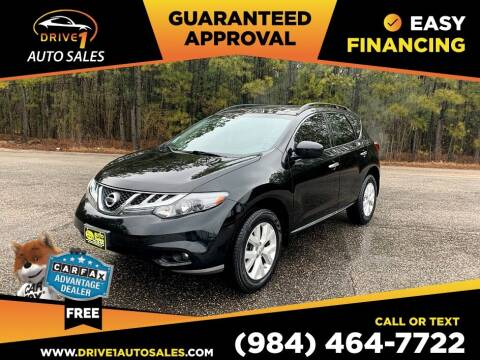 2013 Nissan Murano for sale at Drive 1 Auto Sales in Wake Forest NC