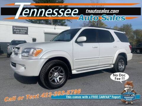 2006 Toyota Sequoia for sale at Tennessee Auto Sales in Elizabethton TN