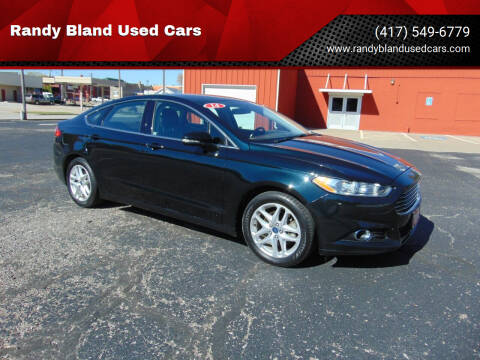 2014 Ford Fusion for sale at Randy Bland Used Cars in Nevada MO