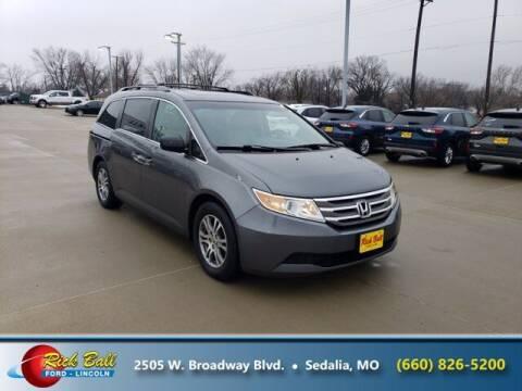 2011 Honda Odyssey for sale at RICK BALL FORD in Sedalia MO