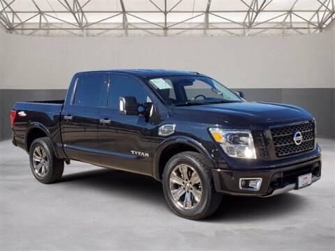 2017 Nissan Titan for sale at Gregg Orr Pre-Owned Shreveport in Shreveport LA