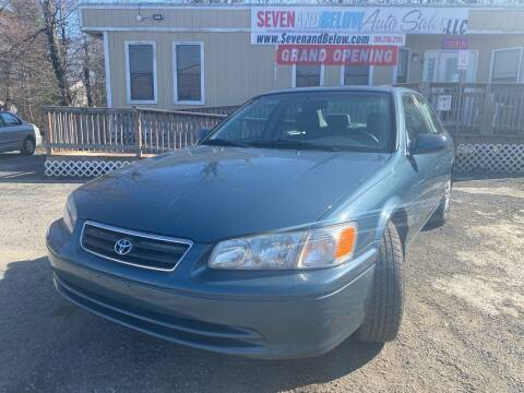 2001 Toyota Camry for sale at Seven and Below Auto Sales, LLC in Rockville MD