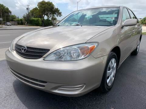 2003 Toyota Camry for sale at KD's Auto Sales in Pompano Beach FL