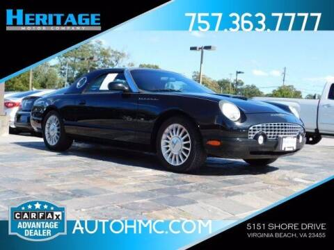 2004 Ford Thunderbird for sale at Heritage Motor Company in Virginia Beach VA
