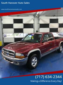 1999 Dodge Dakota for sale at South Hanover Auto Sales in Hanover PA