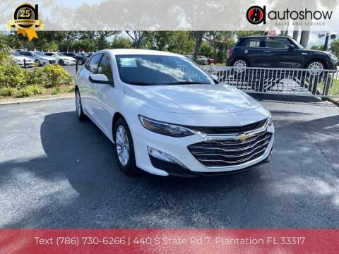 2020 Chevrolet Malibu for sale at AUTOSHOW SALES & SERVICE in Plantation FL