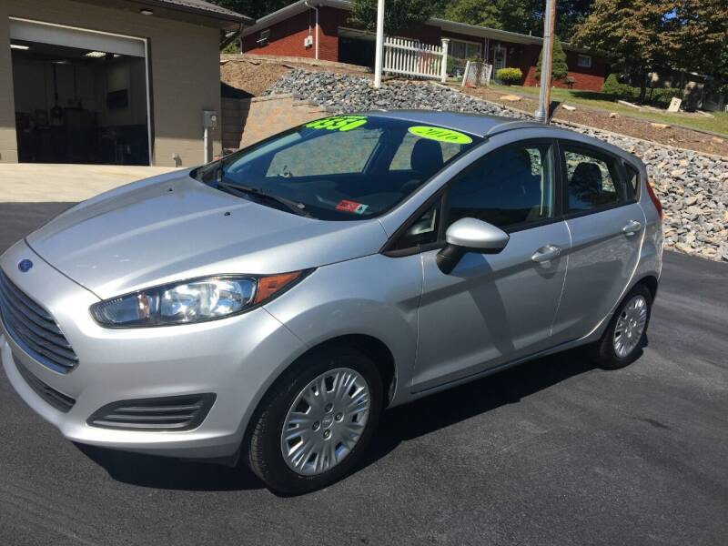 2016 Ford Fiesta for sale at Route 28 Auto Sales in Ridgeley WV