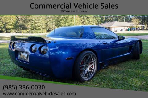 2002 Chevrolet Corvette for sale at Commercial Vehicle Sales in Ponchatoula LA