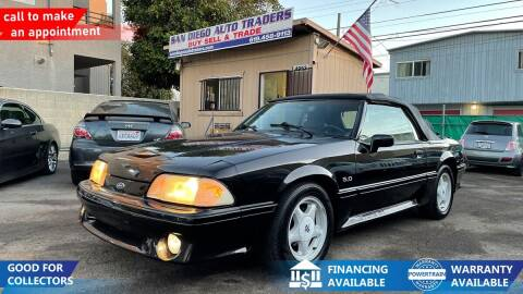 1991 Ford Mustang for sale at San Diego Auto Traders in San Diego CA