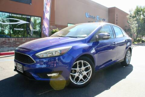2015 Ford Focus for sale at CK Motors in Murrieta CA