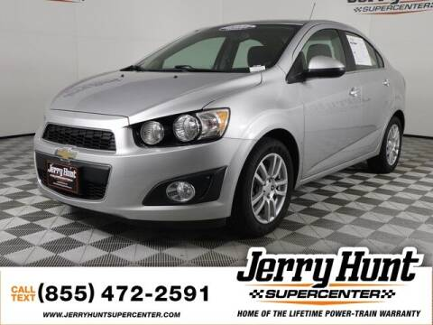 2016 Chevrolet Sonic for sale at Jerry Hunt Supercenter in Lexington NC