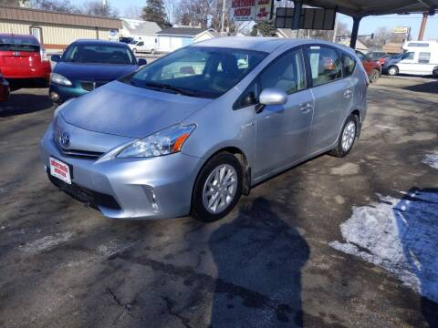 2012 Toyota Prius v for sale at NORTHERN MOTORS INC in Grand Forks ND
