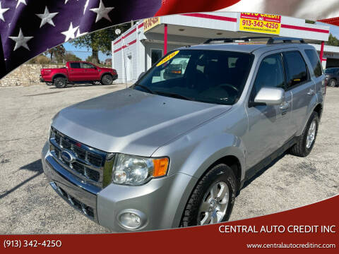 2010 Ford Escape for sale at Central Auto Credit Inc in Kansas City KS