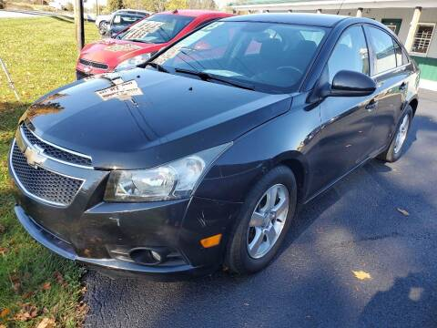 2013 Chevrolet Cruze for sale at Pack's Peak Auto in Hillsboro OH