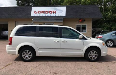 2010 Chrysler Town and Country for sale at Gordon Auto Sales LLC in Sioux City IA