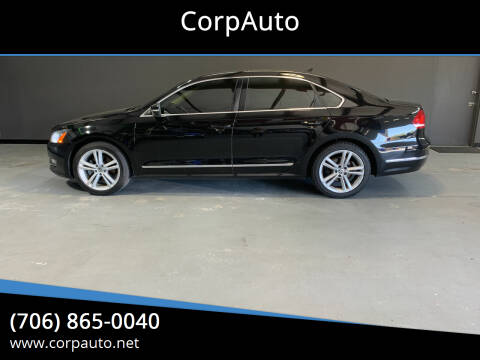 2014 Volkswagen Passat for sale at CorpAuto in Cleveland GA