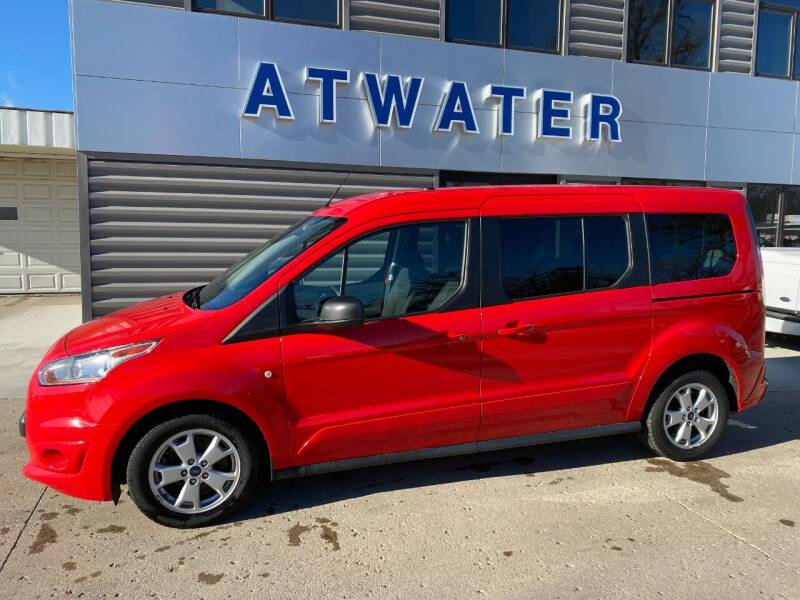2016 Ford Transit Connect Wagon for sale at Atwater Ford Inc in Atwater MN